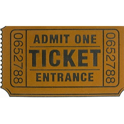 Ticket Doormat