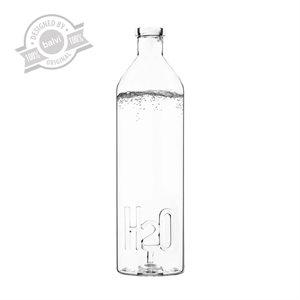 Bouteille en verre H2O pour la table (1.2L)