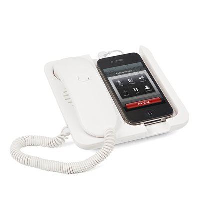 Pronto Phone Holder / Speaker-White