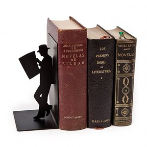 The Reader Bookend