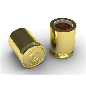 50 Caliber Shot Glass (Set of 2)