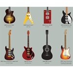 Pop Chart Journal-Guitar