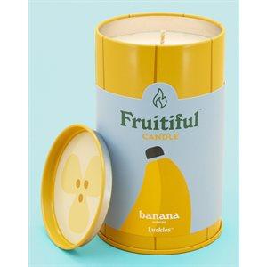 Bougies Fruitiful-Banane