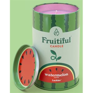 Bougies Fruitiful-Melon d'eau