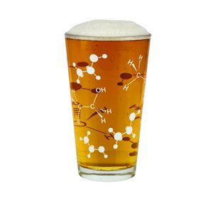 Beer Pint Glass-Chemist Approved