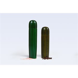 Cacti Salt and Pepper Green Wood