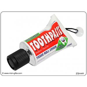 Toothpaste Tissue Roll Cover