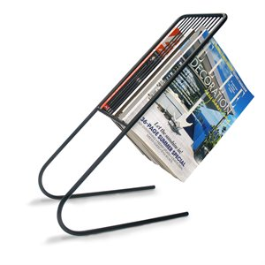 Float Magazine Rack-Black