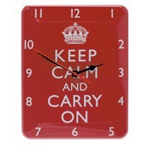 Keep Calm Clock