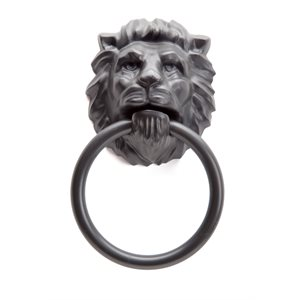 Porte serviette Lion's Head-Noir