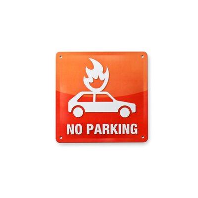 Tin Plate Sign-No Parking