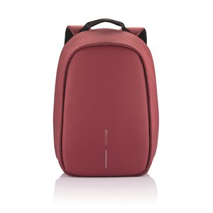 Bobby Hero Small Anti-theft backpack-Cherry Red