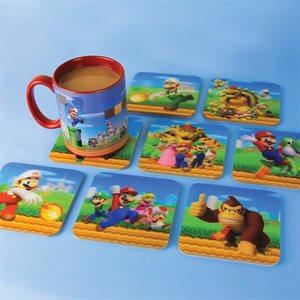Super Mario Brothers 3D Coasters