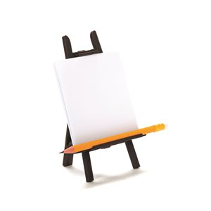 Arty Memo Holder-Brown