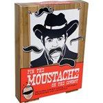 Jeu moustache de cowboy