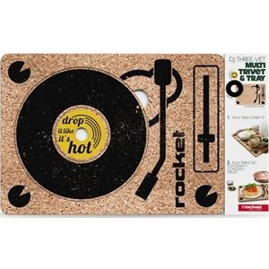 DJ three-vet TRIVET & TRAY