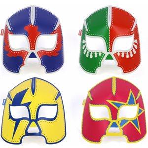 Glowing Masks-Wrestlers