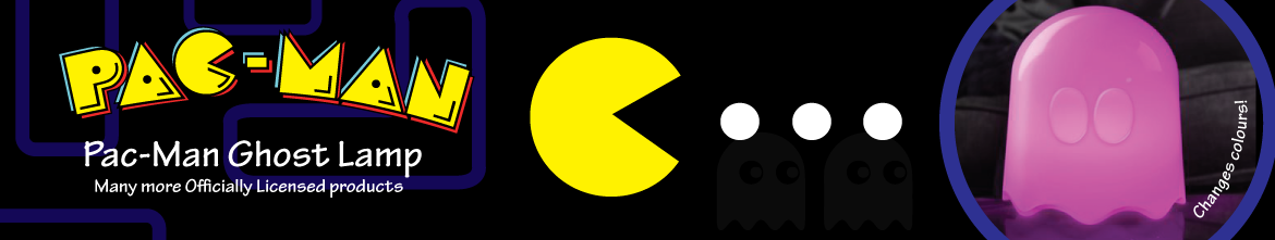 Officially Licensed Pac-Man products. Get them now!