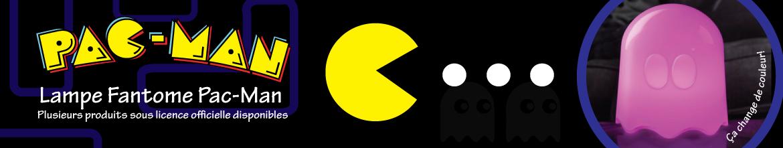 Lampe fantôme Pac-Man